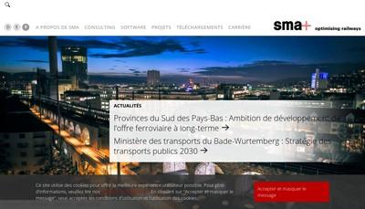 Site internet de Sma (France)