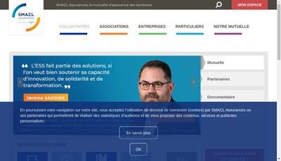 Site internet de Smacl Assurances