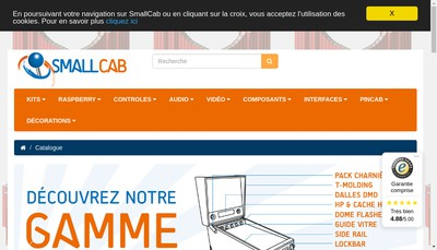 Site internet de Smallcab