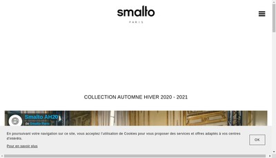 Site internet de Smalto