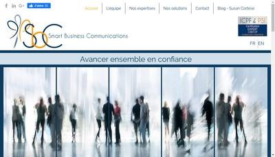 Site internet de Smart Business Communications