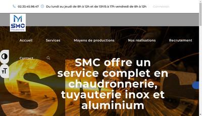 Site internet de Smc Chaudronnerie
