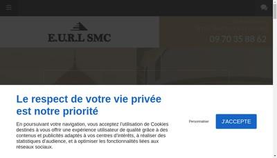 Site internet de Smc