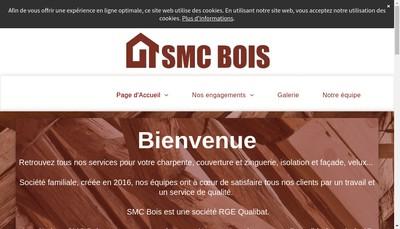 Site internet de Smc Bois