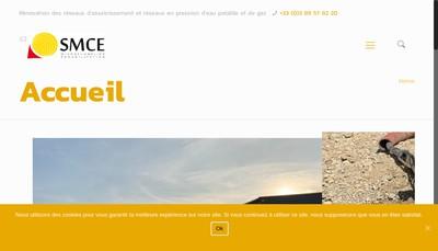 Site internet de Smce Reha