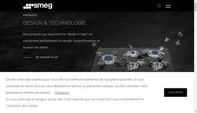 Site internet de SMEG