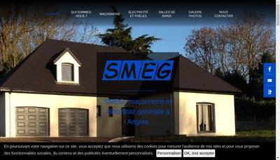 Site internet de Societe de Maconnerie et Electricite Generale Smeg