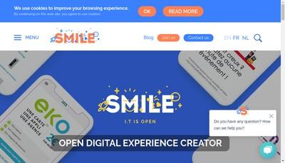 Site internet de Smile Corp