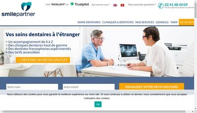 Site internet de Smile Partner