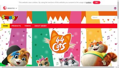 Site internet de Smoby Toys SAS