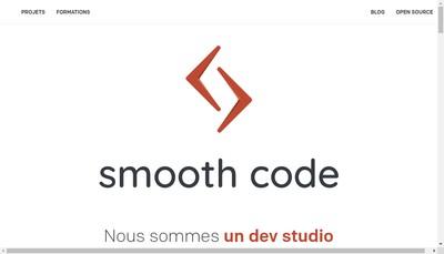 Site internet de Smooth Code