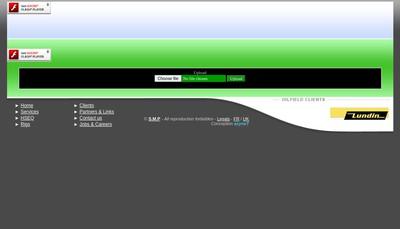 Site internet de Societe de Maintenance Petroliere SAS
