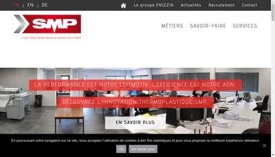 Site internet de Smp