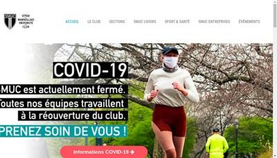 Site internet de SMUC Jean Bouin Stade