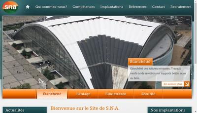 Site internet de Societe Nouvelle d'Asphaltes