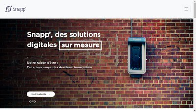 Site internet de Snapp Group