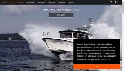 Site internet de Snip