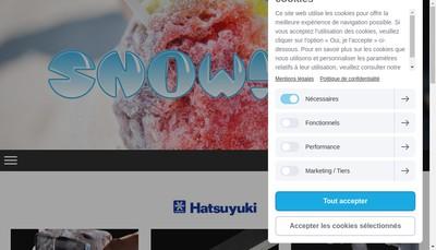 Site internet de Snowizz