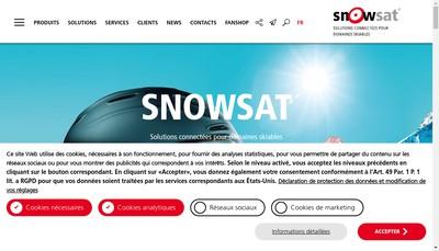 Site internet de Snowsat