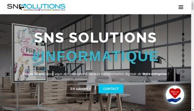 Site internet de SNS Global Services