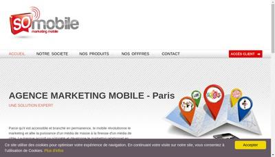 Site internet de So Mobile