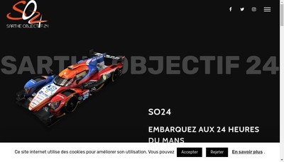 Site internet de Sarthe Objectif 24 I