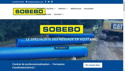 Site internet de Sobebo