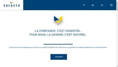 Site internet de Socasto