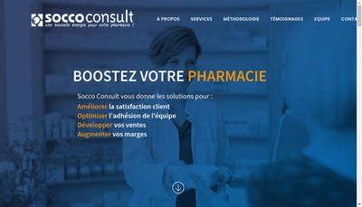 Site internet de Socco Consult