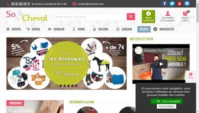 Site internet de Socheval