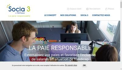 Site internet de Socia 3