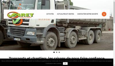 Site internet de SAS Varet