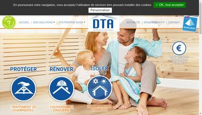 Site internet de SARL DTA