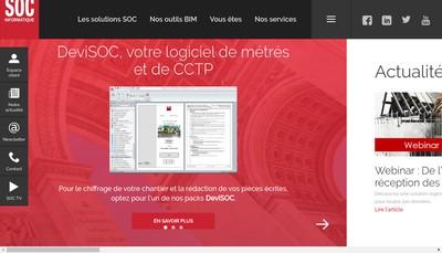 Site internet de Societe Informatique