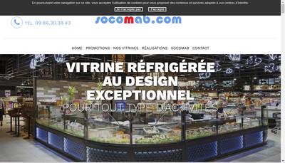 Site internet de Socomab Pole Froid Distribution