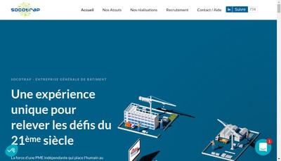 Site internet de SOCOTRAP