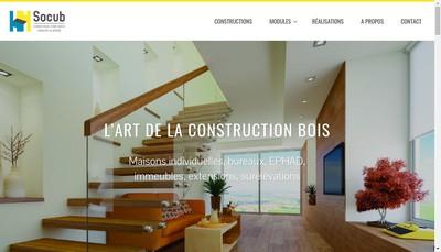 Site internet de Socub