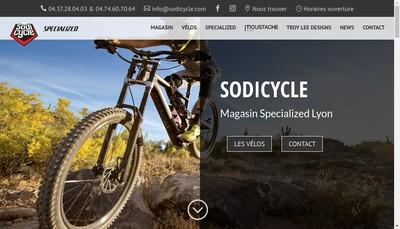 Site internet de Sodicycle