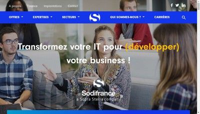 Site internet de Sodifrance