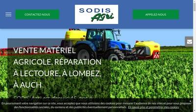 Site internet de Sodis Agri