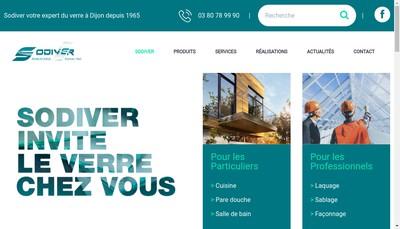 Site internet de Societe Distribution Produits Verriers