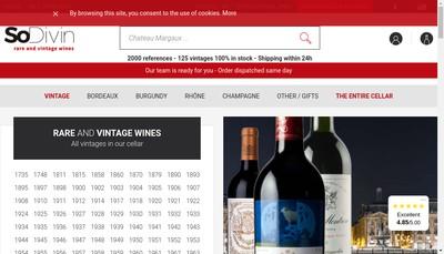 Site internet de Sodivin