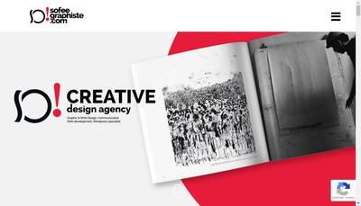 Site internet de Sofee Graphiste