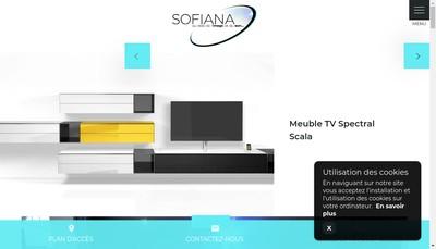Site internet de SARL Sofiana