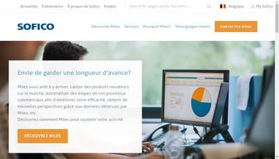 Site internet de Sofico Services France