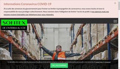 Site internet de Sofitex