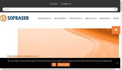 Site internet de Sofraser
