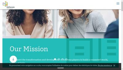 Site internet de Sofrecom