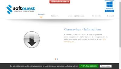 Site internet de Soft Ouest