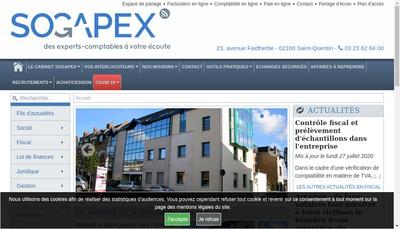 Site internet de Sogapex